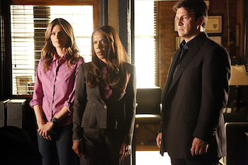 STANA KATIC, PENNY JOHNSON JERALD, NATHAN FILLION